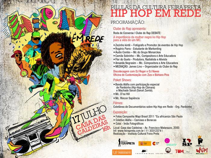Hip-hop em Rede - Divulgação